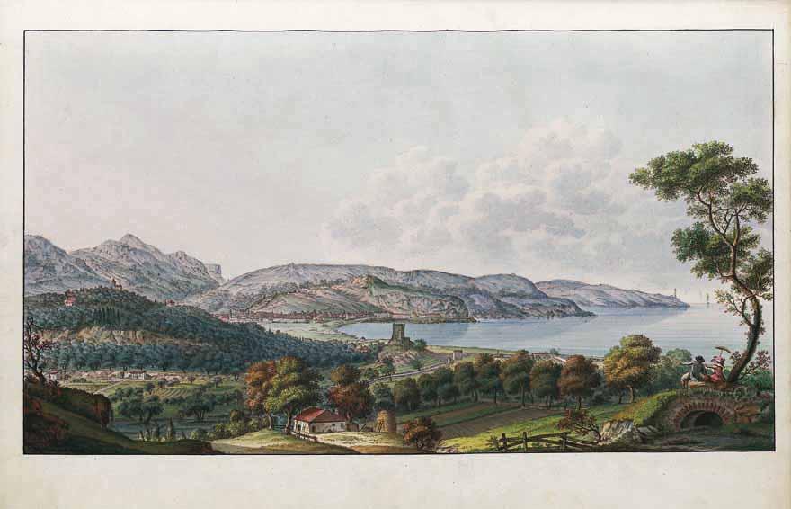Côte de Nice depuis Magnan.